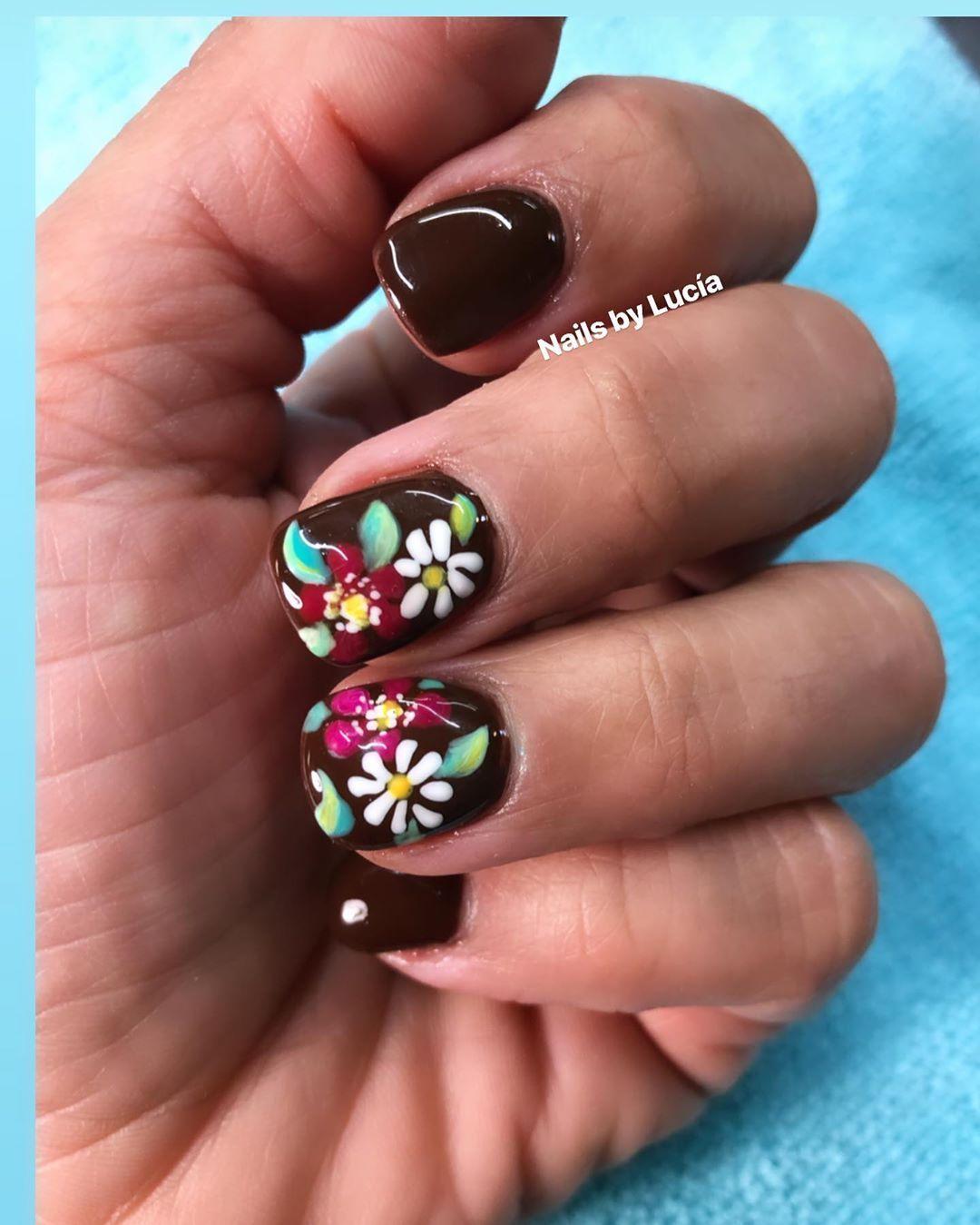 "Lucía Bernal on Instagram ""Nails by Lucía!!Findlay Ohio"