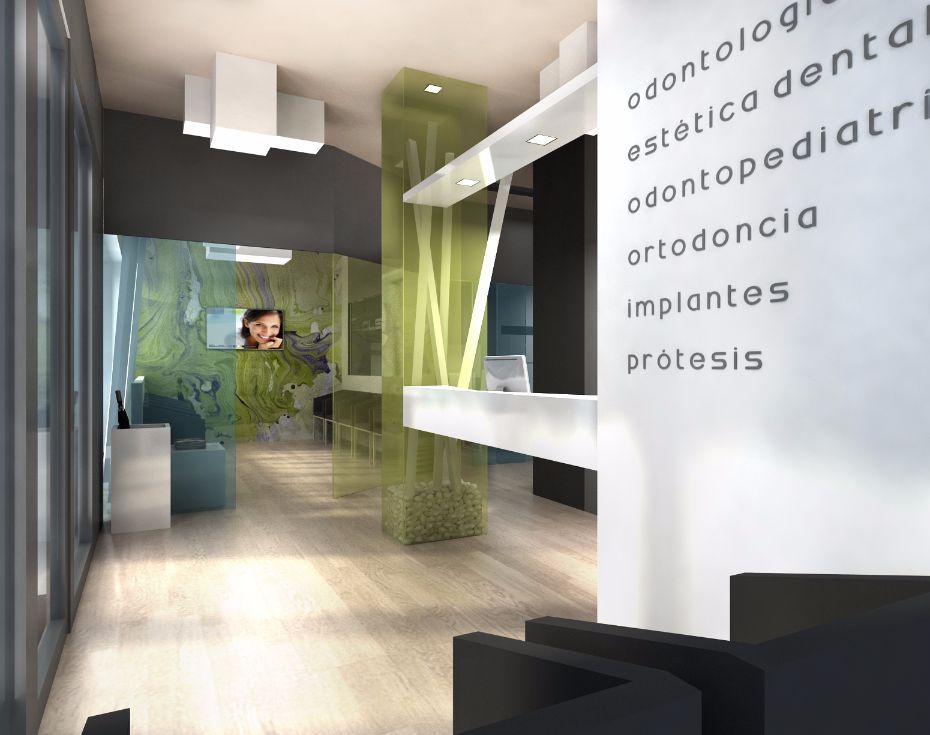 Arquitectura interiorismo dise o decoraci n cl nica dental cl nicas dentales pinterest - Clinicas dentales diseno ...