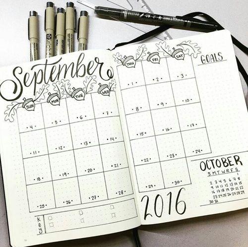 Imagem De Calendar And Bullet Journal Planejadores Jornalismo