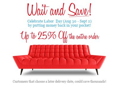 Mid Century Modern Sectionals - Thrive Furniture