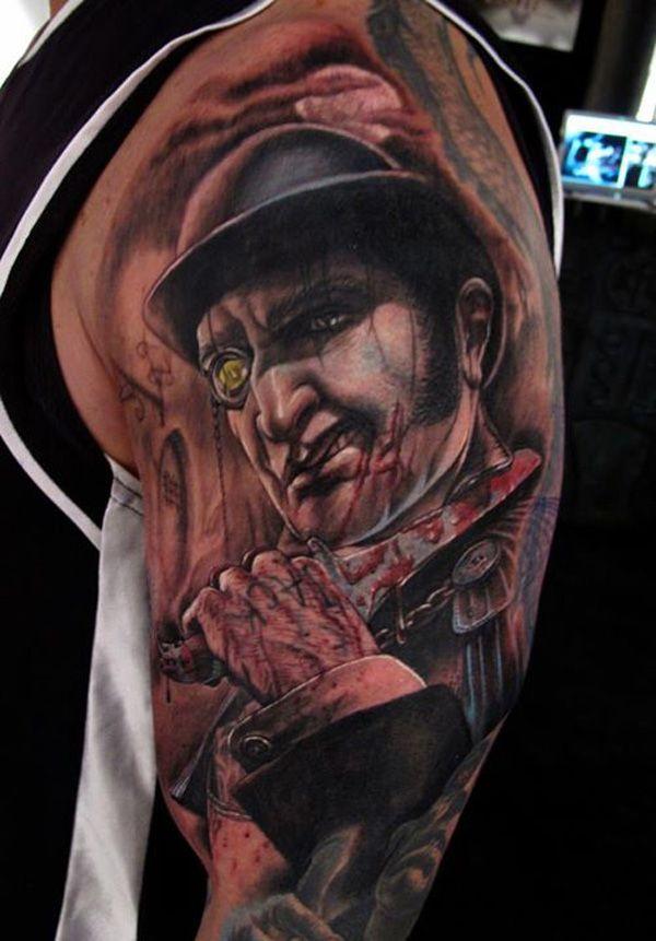 35 Horrible Zombie Tattoos Cuded Zombie Tattoos Eagle Tattoo Sleeve Tattoos