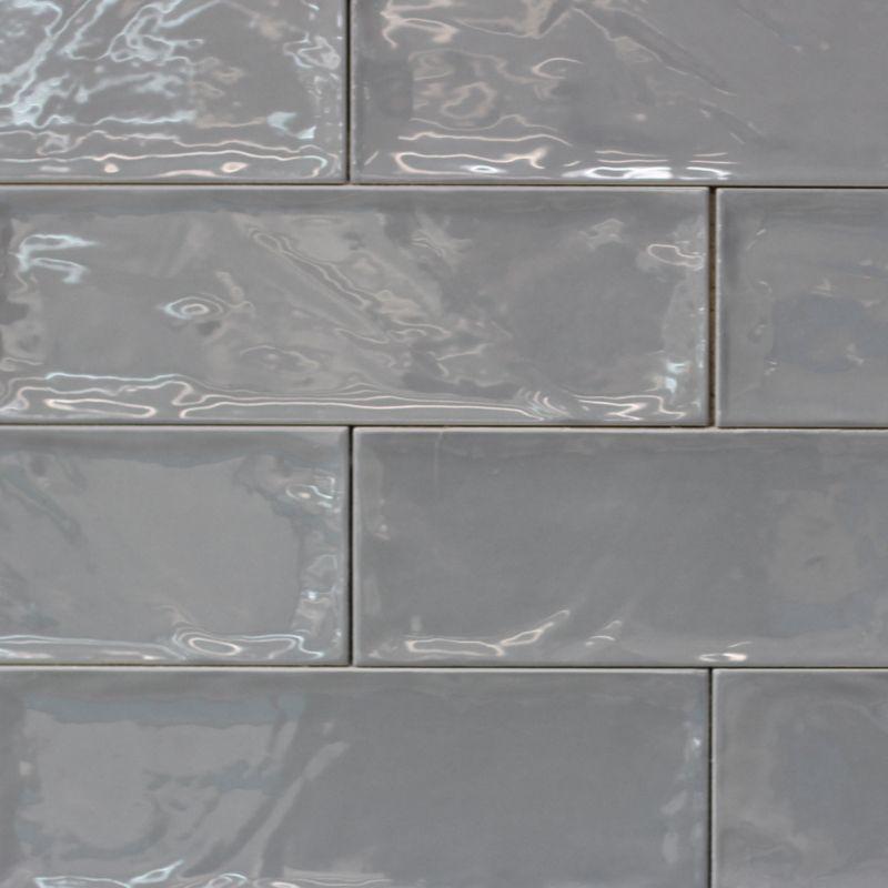 Bulevar-Grey-Gloss-Spanish-Wall-Tile | kitchen | Pinterest | Wall ...