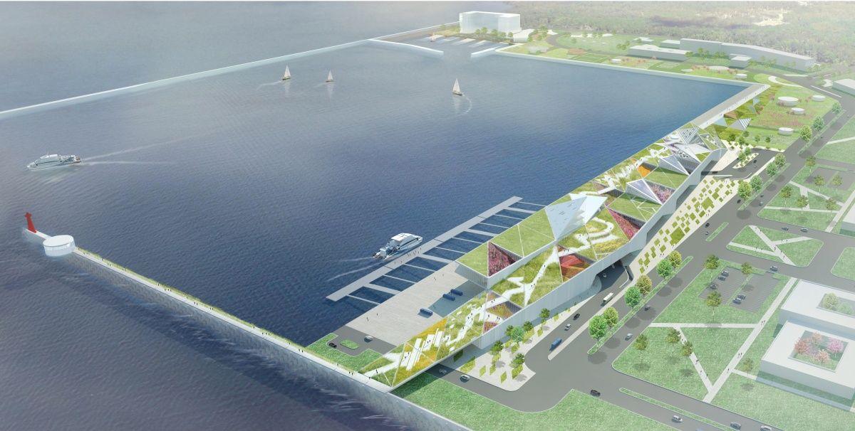 Port of Kinmen Botanical Bridge — LOHA: Lorcan O'Herlihy Architects