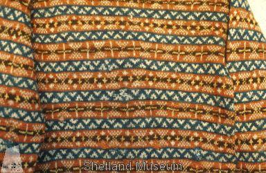 Description Fair Isle jumper from Shetland Museum Knitwear Collection. Tex 7728