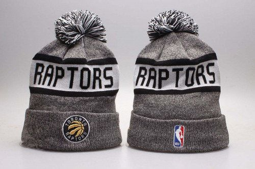 1167e5e8f71 Toronto Raptors Winter Outdoor Sports Warm Knit Beanie Hat Pom Pom ...