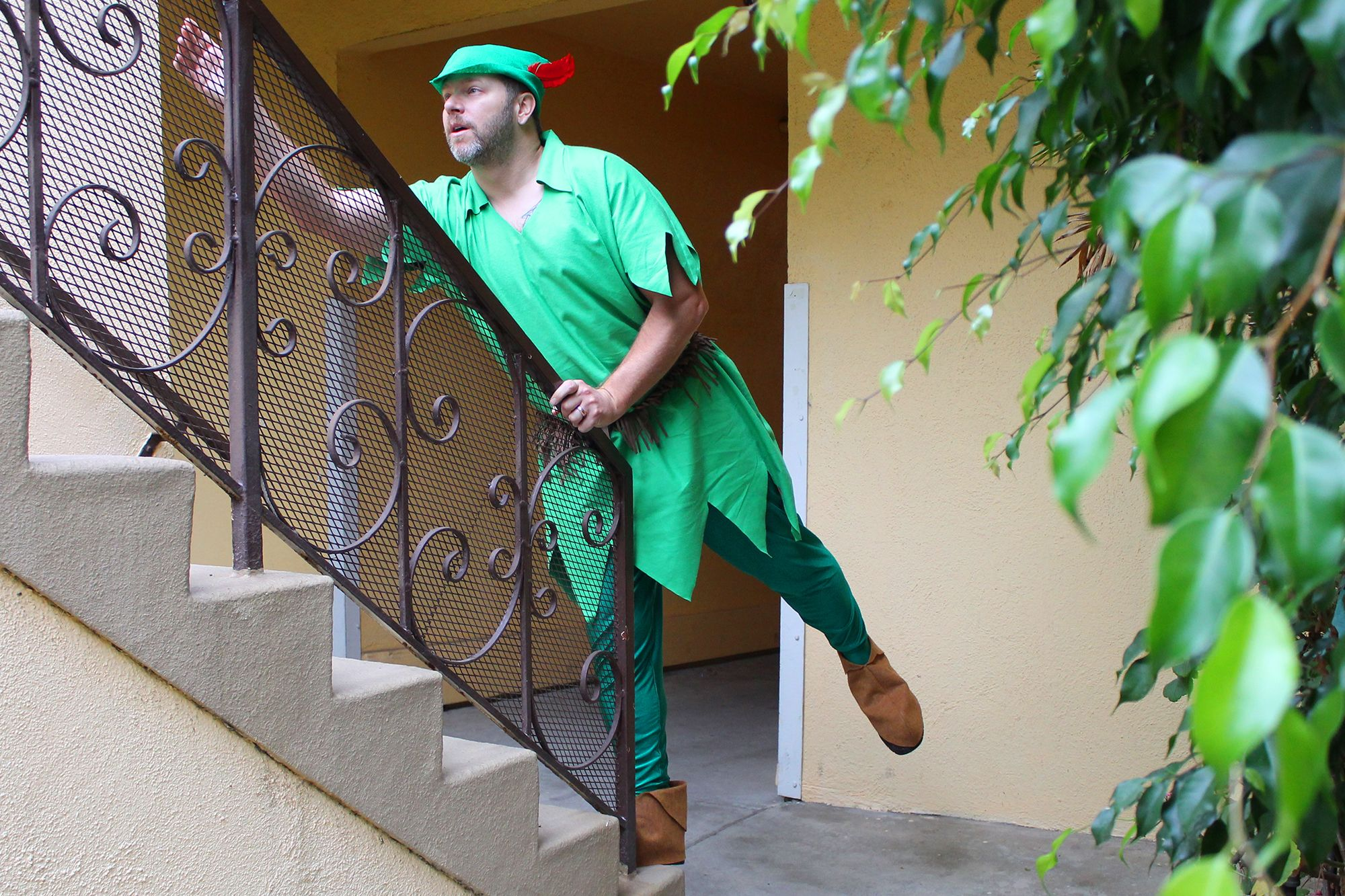 How to Make an Adult Peter Pan Costume