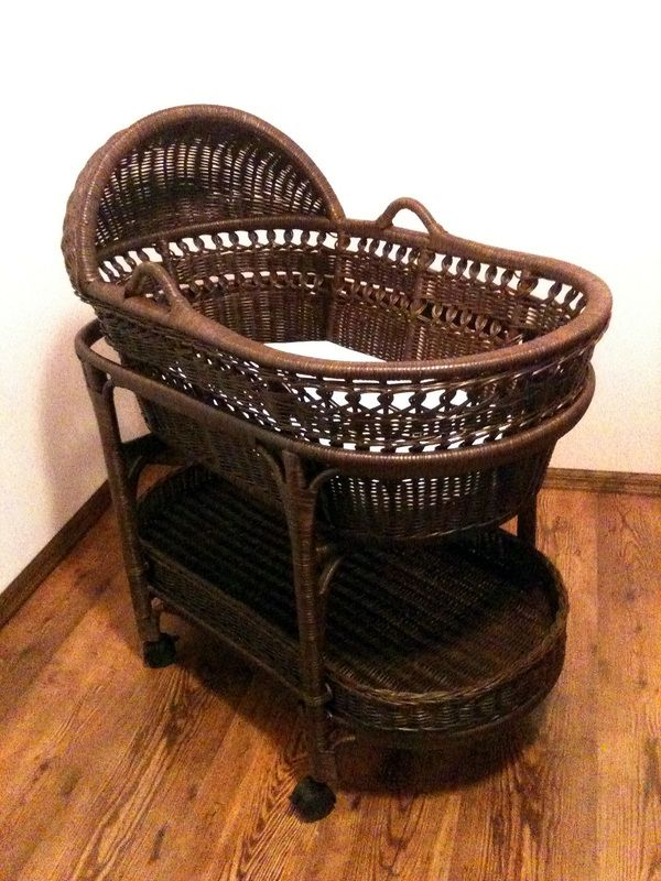 Espresso Bassinet Pottery Barn With Images Pottery
