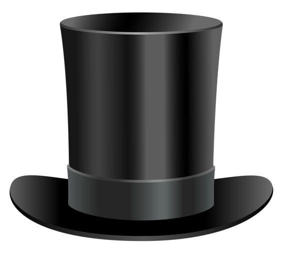 05f4243288e28 Resultado de imagen para sombreros de copa para imprimir Sombreros Negros