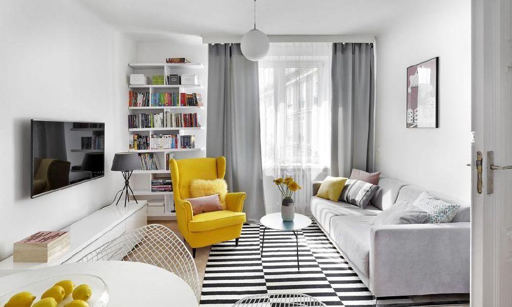 adelaparvu com despre amenajare apartament 2 camere 38 mp designer