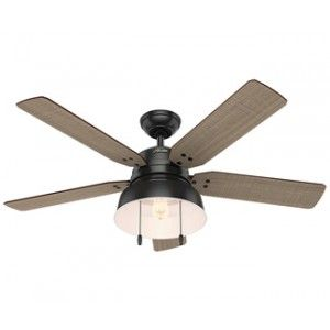 Hunter 59307 mill valley 52 outdoor ceiling fan with led light hunter 59307 mill valley 52 outdoor ceiling fan with led light matte black house pinterest ceiling fan outdoor ceiling fans and milling aloadofball Images