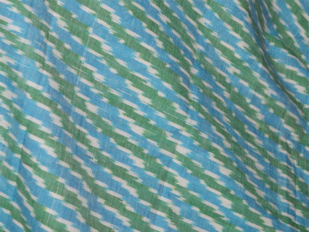Upholstery Fabric Indian Ikat Cotton Handloom Ikat Cotton Fabric