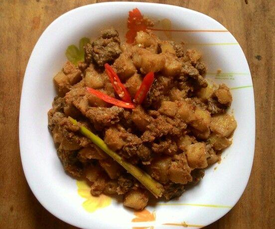 Sambal Goreng Kentang Hati Ayam Resep Masakan Masakan Resep