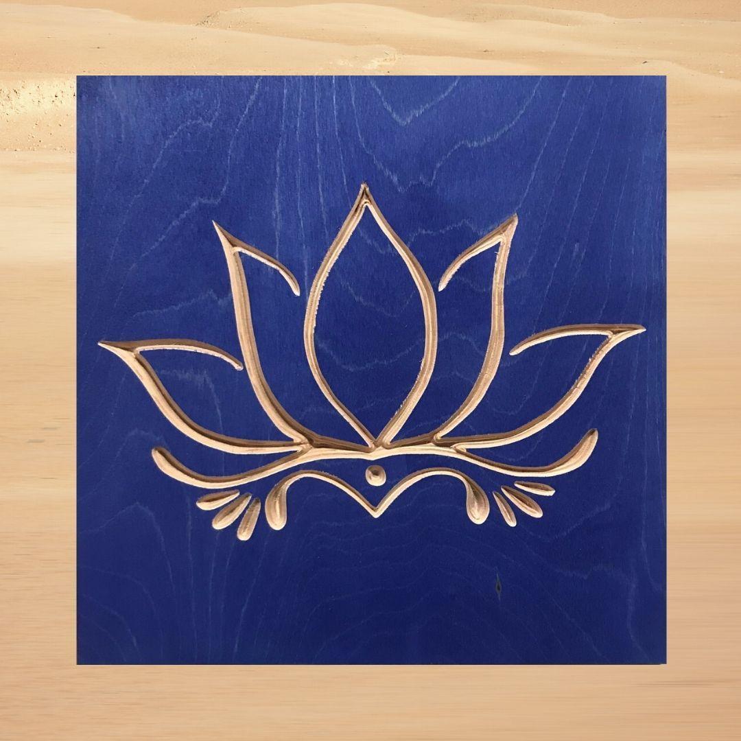 Photo of Lotus Flower – Royal Blue