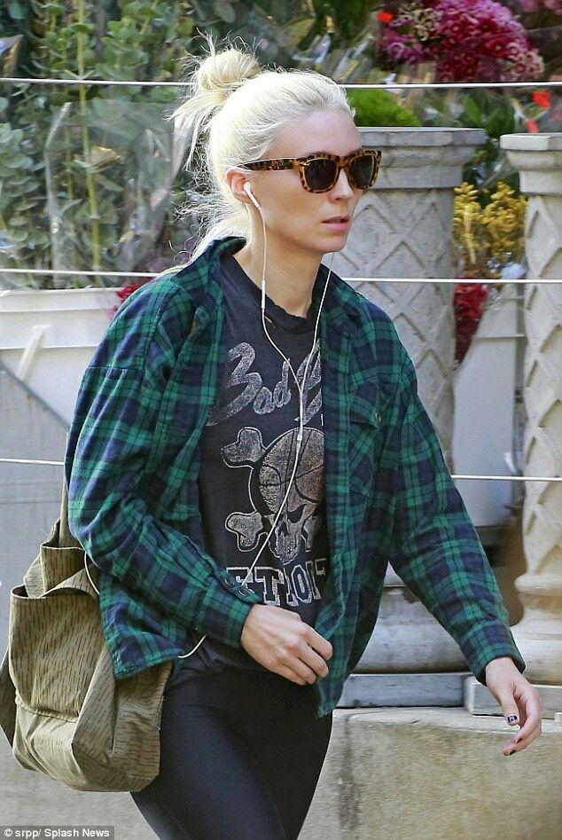 6c66beb73a Rooney Mara living the blonde life.