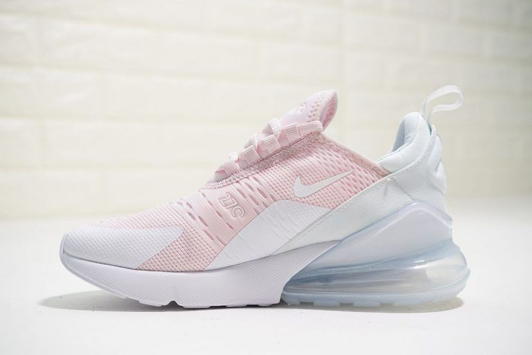 Nike Air Max 270 Light PinkPure White in 2019 | Pink nike