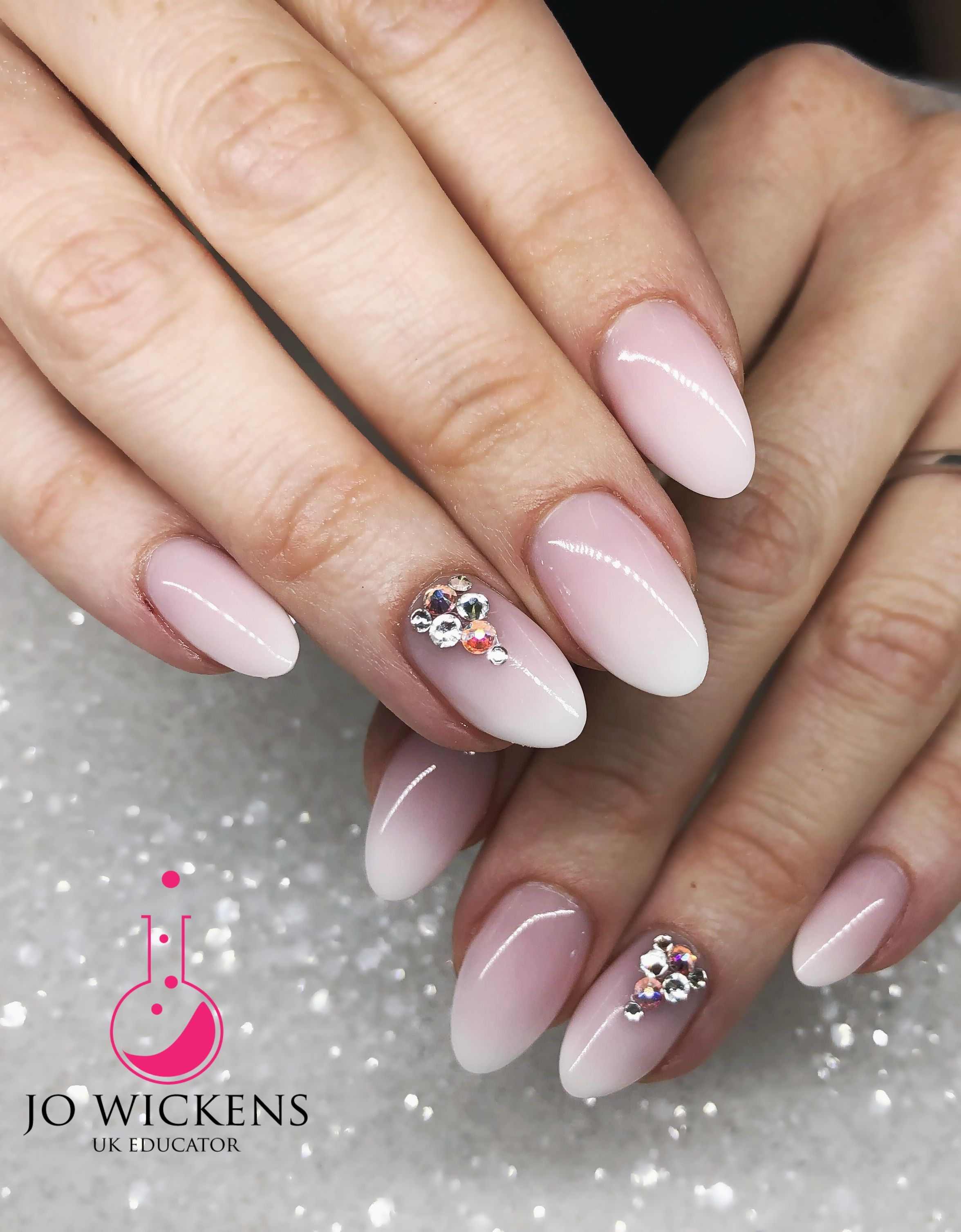 Wedding Nails Bride Bridal Bride To Be Beautiful Light