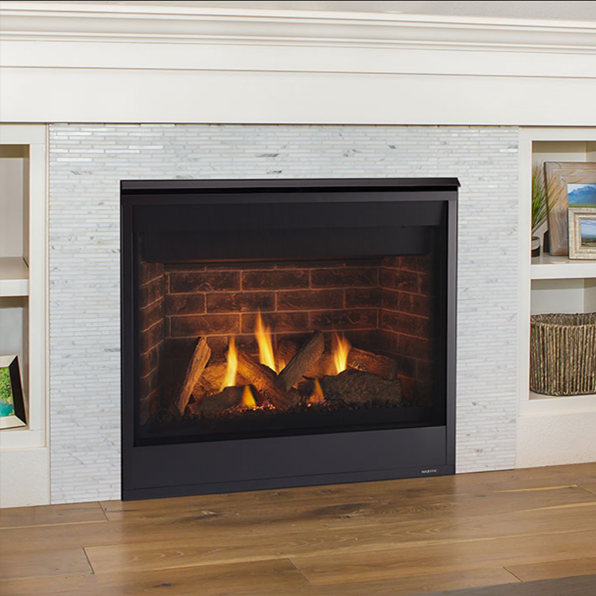 Majestic Quartz 36 Direct Vent Gas Fireplace Quartz36 Vented Gas Fireplace Direct Vent Gas Fireplace Gas Fireplace