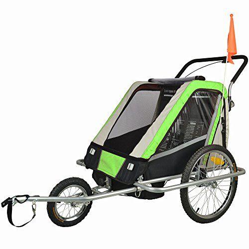 Bike Child Carrier Trailers Suspension Children Bicycle Trailer