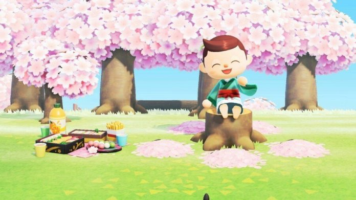List Of Cherry Blossom Series Furniture Item Recipes Animal Crossing New Horizons Switch Game8 Animal Crossing Cherry Blossom Petals Cherry Blossom