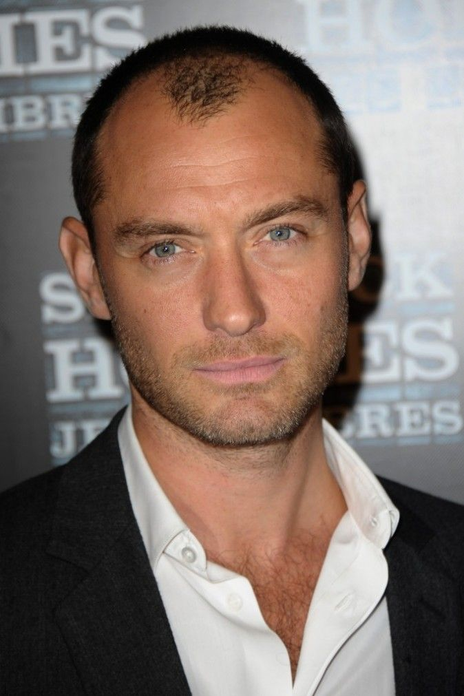Jude law hair style pinterest coupe de cheveux for Perte de cheveux homme