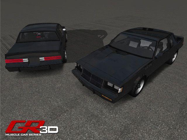 GR3D Muscle Car 050614MSCL | 3D Land | Unity Asset Store