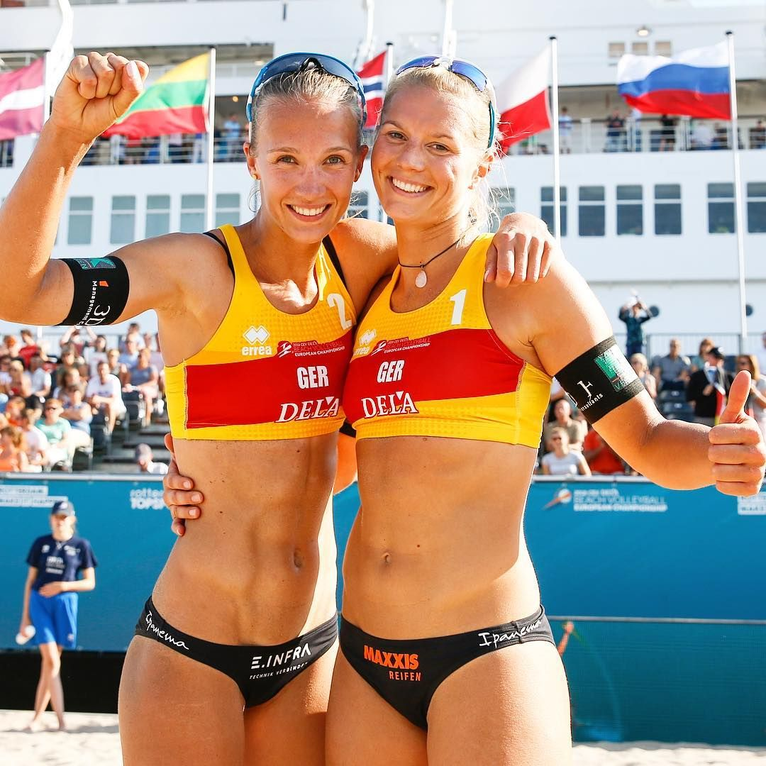 We Topped Our Pool Here In Rotterdam That Means We Are Directly In The Second Round Going To Play The Winner From Spain And France This Eveni Women Volleyball Beach Volleyball