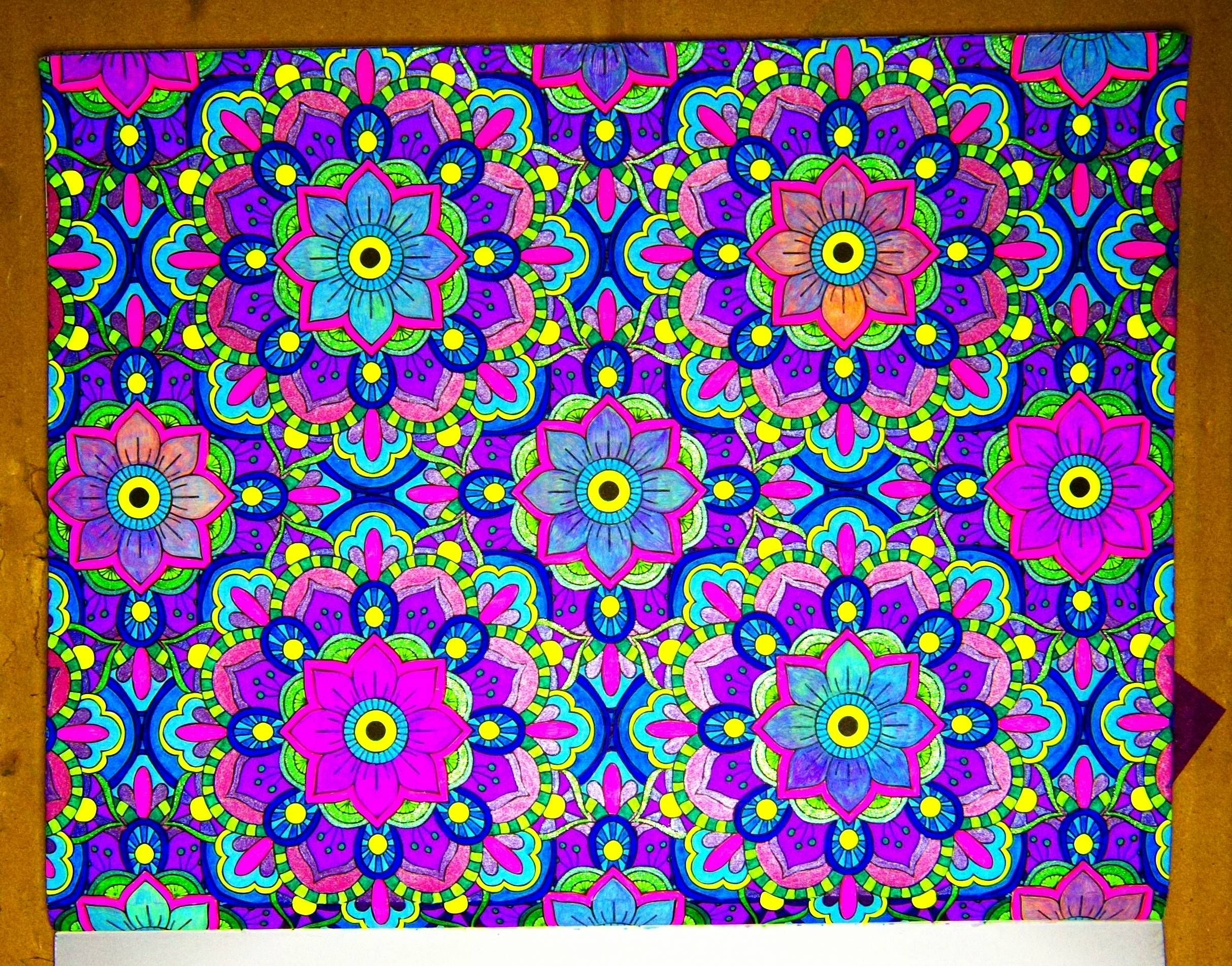 Mandala Wonders Color Art Page 1