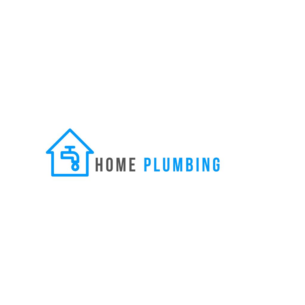 House Tap Water Logo In 2021 Water Logo House Logo Design Online Logo Creator