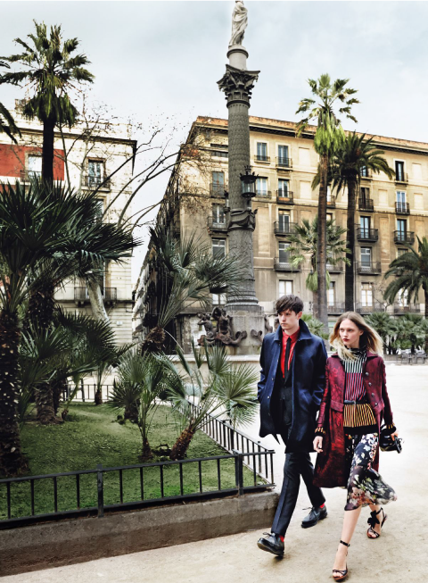 James Blake x Sasha Pivovarova by Mario Testino for Vogue US (May 2014)   Ozarts Etc