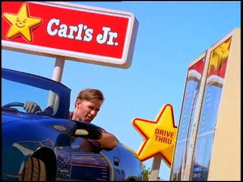 Carls Jr Commercial.mov Carl's jr, Junior, Fun