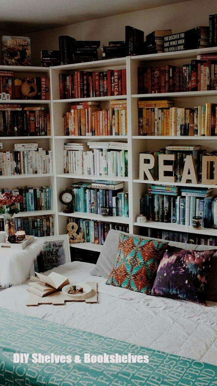 Do It Yourself Bookshelf Ideas: Unique DIY Bookshelf Ideas For Book Lovers