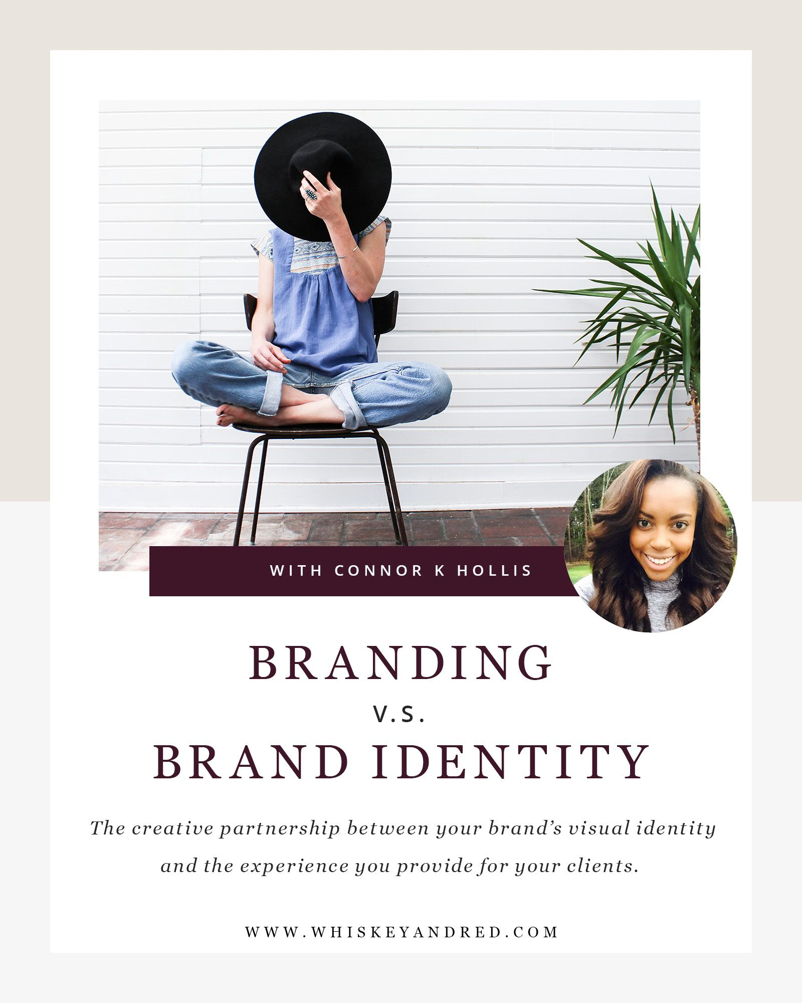 Branding Vs. brand identity image.
