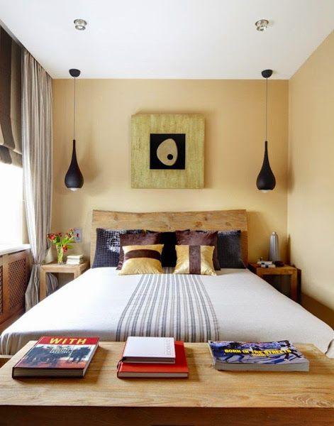 Dormitorio Pequeño Y Acogedor Decoración Decoraciones De