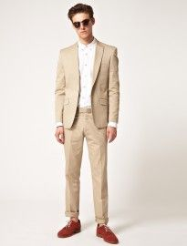 Men's Khaki Suits: A Spring/Summer Option   Men's Fashion ...
