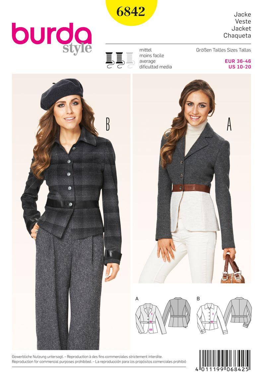 Simplicity Creative Group - Burda Style Jackets, Coats, Vests ...