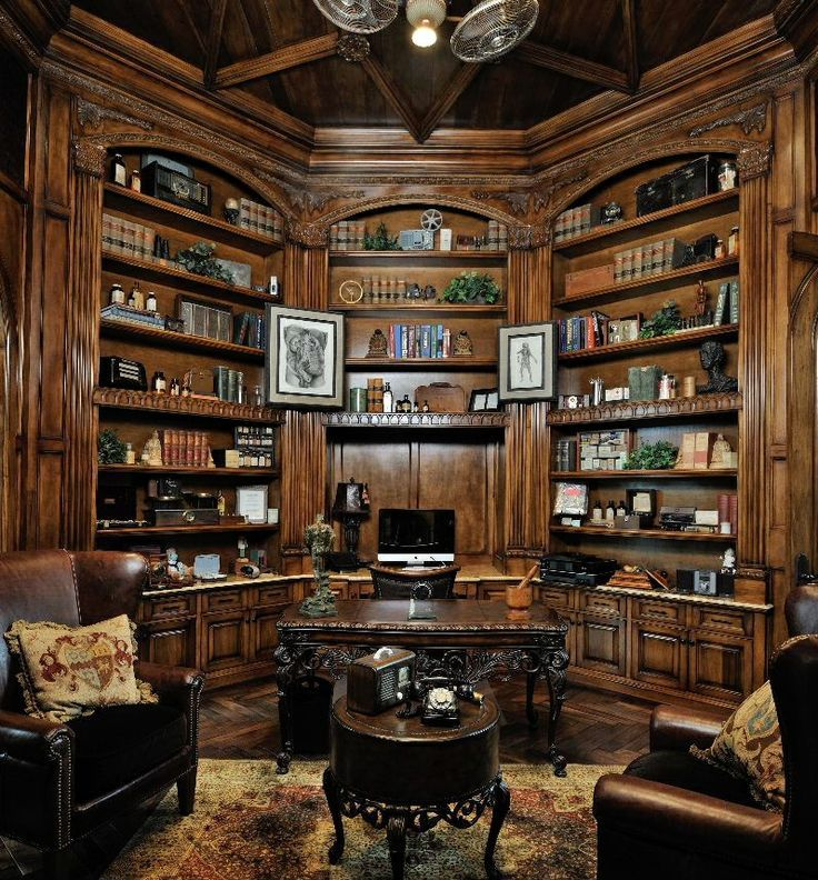 0350d2b1adeaea00b7a73b3f357f77a6 - 20+ Small Home Office Library Design Ideas  PNG