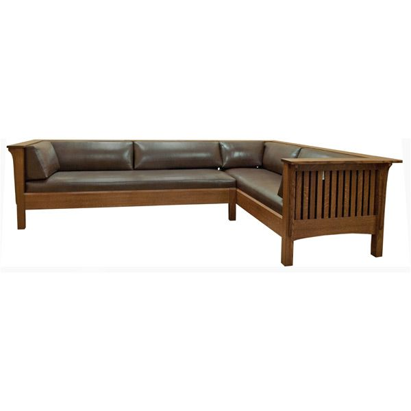 Amish Mission Prairie Sectional Sofas Loveseats Pinterest