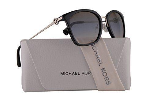 16520a7a3b  109.99 - Michael Kors MK2064 Lugano Sunglasses Black w Brown Blue Nude  Gradient Lens 53mm