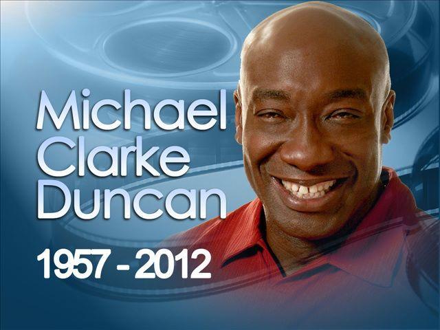 RIP Michael Clarke Duncan #GoneTooSoon #GreenMile