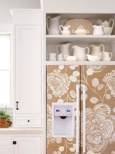 Una casa country: Electrodomésticos