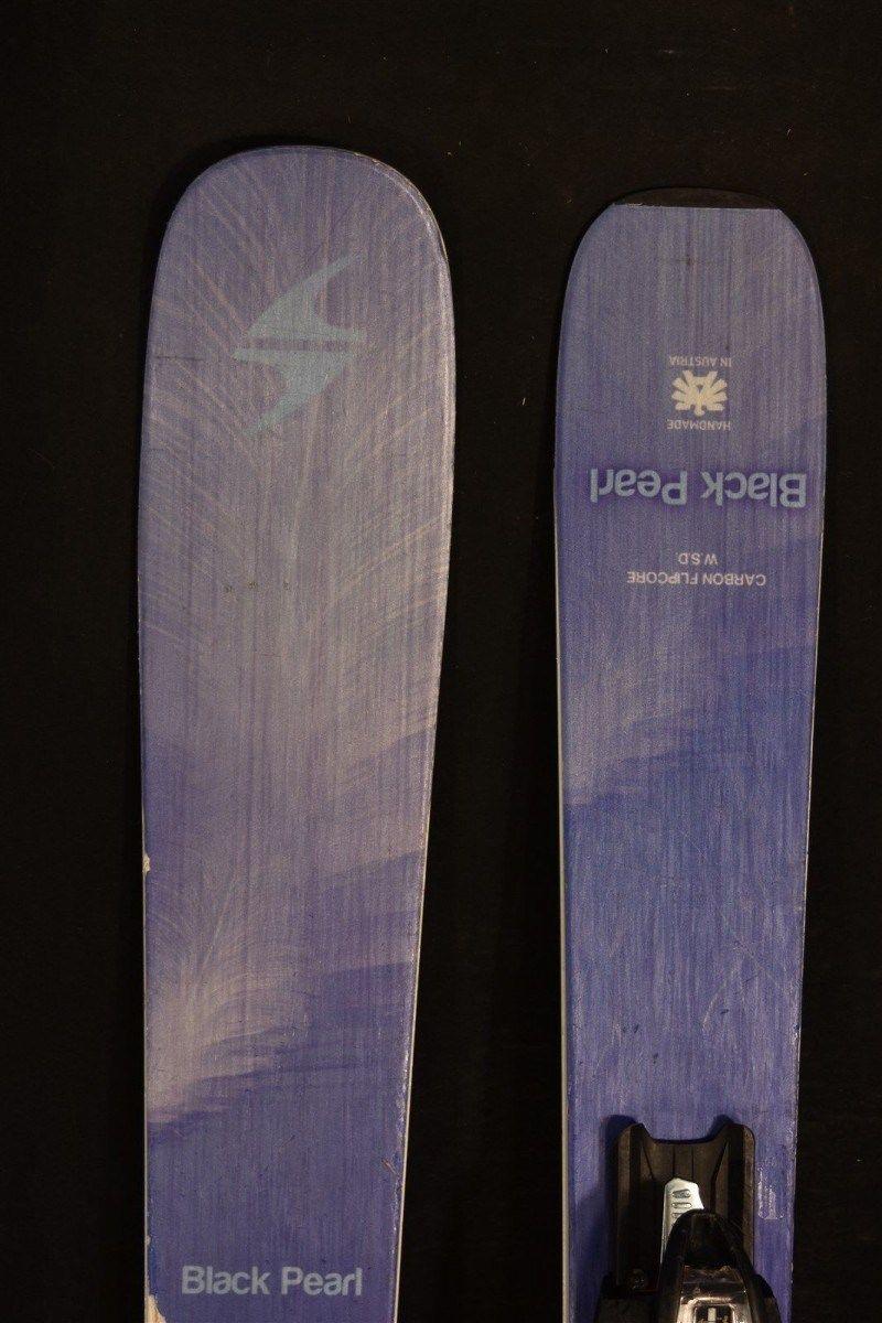 Blizzard black pearl skis 152 cm w/bindings womens 2016