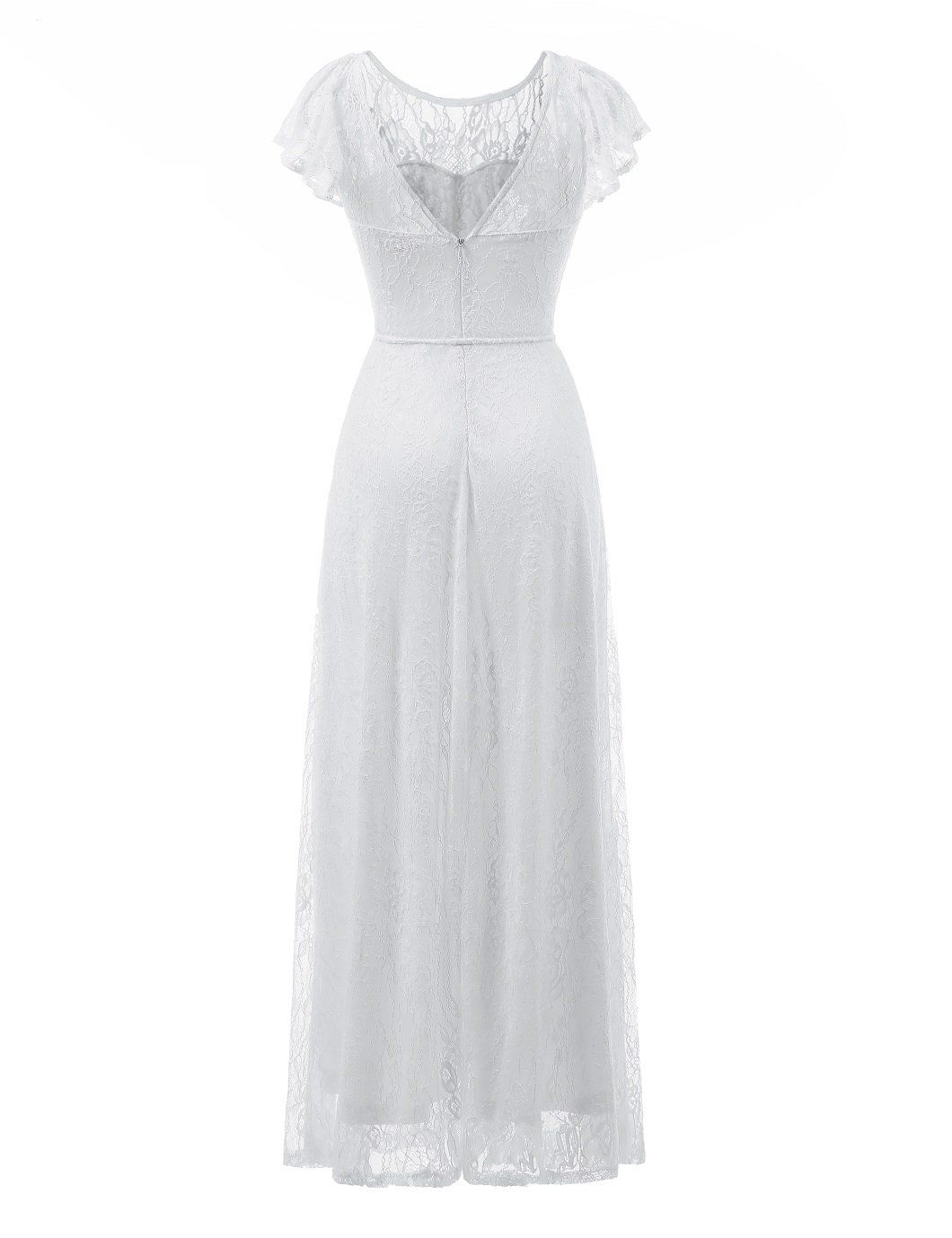 Berylove womens long floral lace maxi dress evening party wedding