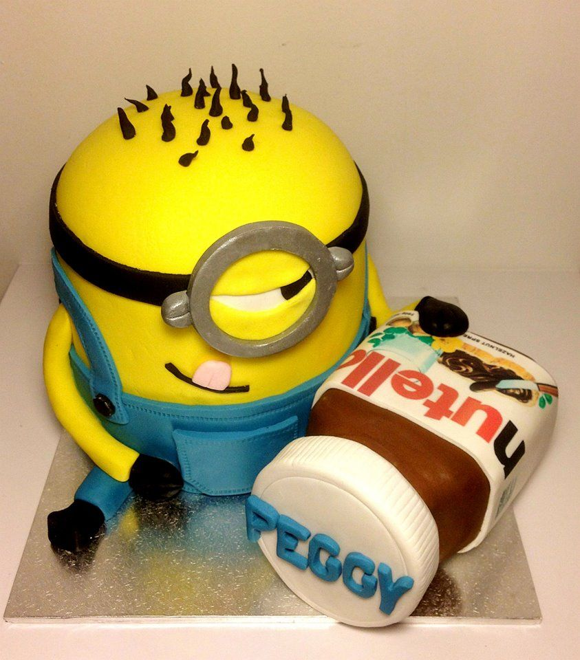 Minion Birthday Cake By Elvin And The Cakes South Melbourne