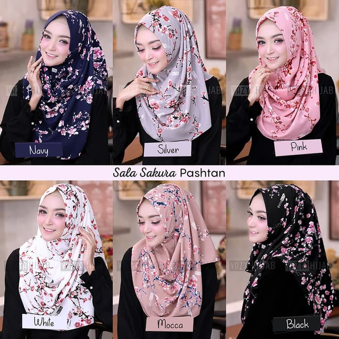 Hijab Pashmina Instan Sala Sakura Terbaru 2019 Cantik Https Www Trendshijab Com Hijab Instan Sala Sakura Model Pakaian Hijab Pakaian Wanita