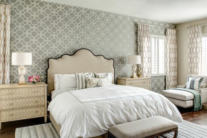 Wallpaper ideas bedroom   Home Decoration   Tapete ...