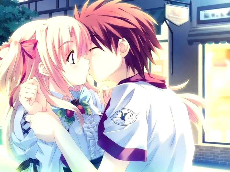 20+ Cute Anime Couples Backgrounds JPG