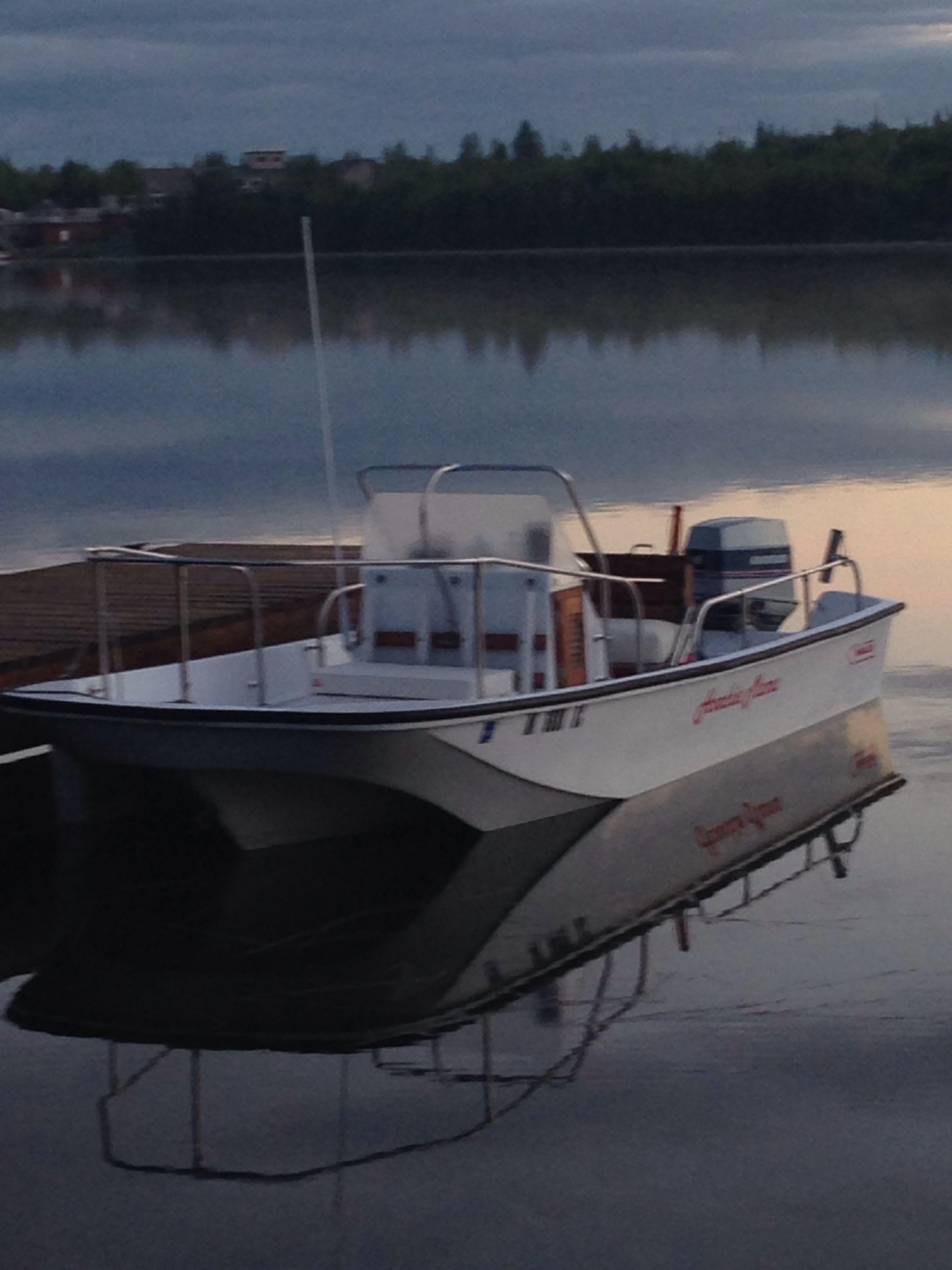 Restored Our 1980 Boston Whaler Montauk Boston Whaler Boston Whaler Boats Whalers