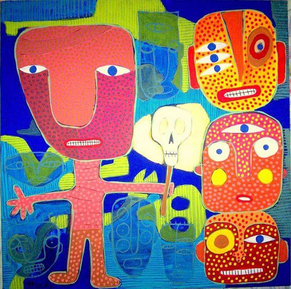 Pin By Patricia Langston On Art I Like Outsider Art Painting Outsider Art Folk Art