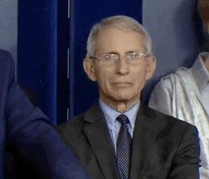 Gifs Toppost Dr Fauci Reacts To Trump Present Day Gifart Gifcute In 2020 Facepalm Gif Funny Gif Anthony