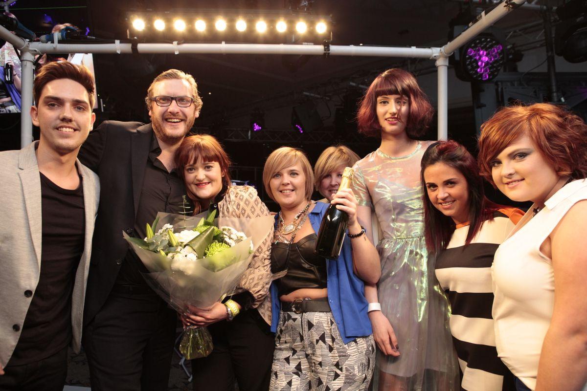 Scottish Regional Final Colour Trophy Award CHAPLINS